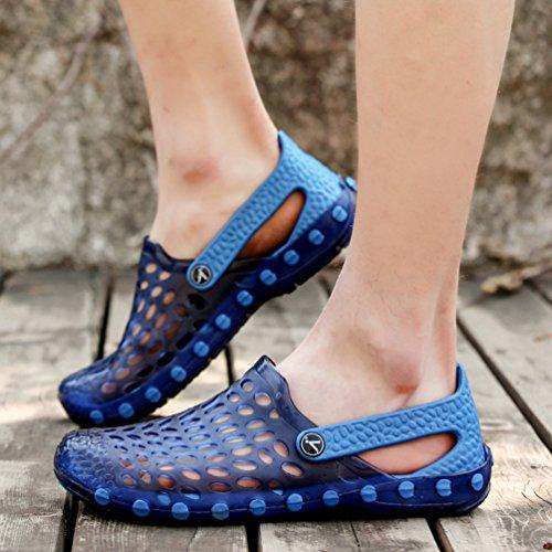 Sentao Unisex Atmungsaktiv Hausschuhe Sandalen Gartenschuhe Clogs Leicht Strand Schuhe Stil 4