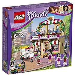 LEGO Friends - La pizzeria d'Heartlake City - 41311 - Jeu de Construction
