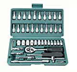Best Socket Sets - Okayji 46 in 1 Pcs Tool Kit Review