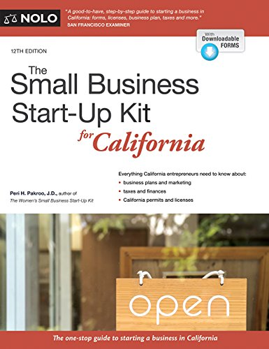 Small Business Start-Up Kit for California, The (Small Business Start Up Kit for California) (English Edition)