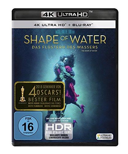 Shape of Water - Das Flüstern des Wassers  (4K Ultra HD) (+ Blu-ray) -
