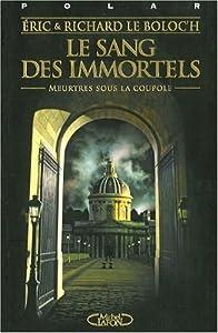 vignette de 'Le sang des immortels (Éric Le Boloc'h)'