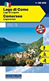 Lago di Como - Lago di Lugano 1 : 50 000. Holiday Map (Kümmerly+Frey Holiday Map)