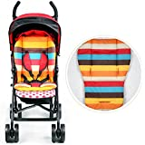 1PC Waterproof Baby Stroller Cushion Pad Pram Padding Liner Car Seat Pad Rainbow Baby Kids Stroller Cushion