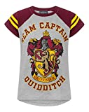 Harry Potter Quidditch Team Captain Girl'S T-Shirt (11-12 Years)