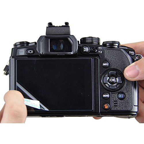 JJC LCD optisches Glas Screen Cover für Canon EOS 700D/650D/Kiss X7i/X6i und Rebel T5i/T4i