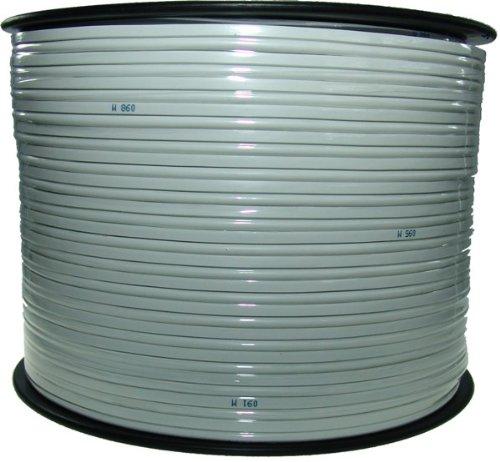 Lautsprecherkabel weiß – 2×1,5mm² – 50m Ring