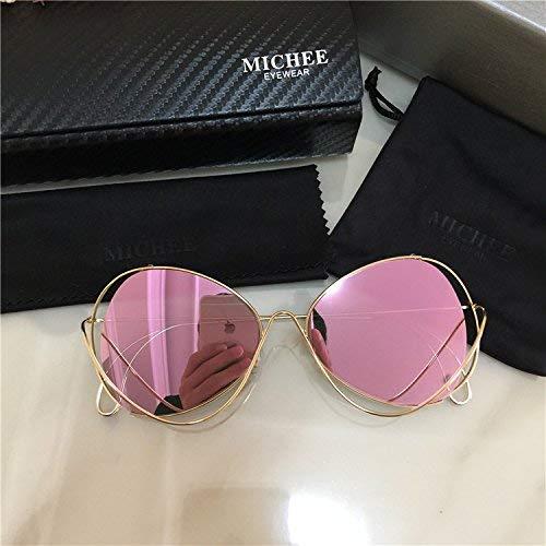 Der Star Sonnenbrille Persönlichkeit Katzenauge der modischen Männer und Frauen Sonnenbrille Mode beleben alte Bräuche einen positiven Artikel, um UV-Pulver zu verteidigen