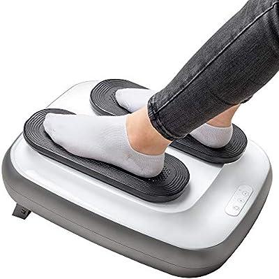 GRIDINLUX. Ejercitador de Piernas TRAINER LEGS. Gimnasia Pasiva, Mando a Distancia, Masaje de Pies, Altura Regulable, Intensidad Ajustable, Fácil de usar