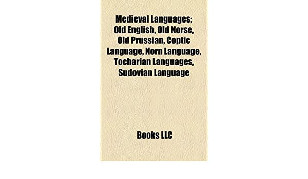 Amazon in: Buy Medieval Languages: Old English, Old Norse