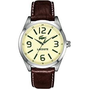 Lacoste Unisex Analogue Quartz Strap Watch 2010618 de Lacoste