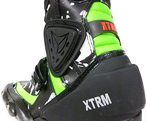 NEU RACING KIDS STIEFEL XTRM ADVENTURE MOTOCROSS KINDER MX TRACK STIEFEL GRüN (34) - 4