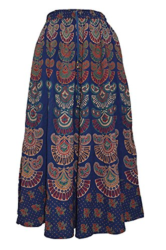 54100cc31d 24% OFF on MRV Fashion's Printed Cotton Multi Color Wrap Around Long Skirts  Combo of 3 (assorted colour & assorted design) on Amazon | PaisaWapas.com