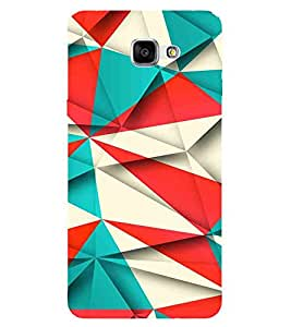 For Samsung Galaxy A9 (2016) :: Samsung Galaxy A9 Pro (2016) 3D pattern, Multicolor, Lovely Pattern, Great pattern, Printed Designer Back Case Cover By CHAPLOOS