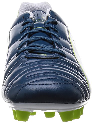 Puma Mens Firm Ground Football Boots Universal II FG Soccer Cleats-Blue-9