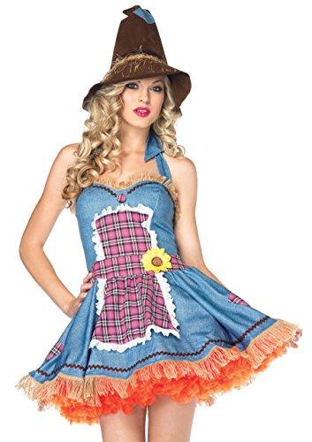 Leg Avenue Sunflower Scarecrow Kostüm S/M, 1 - Kostüm Der Promis