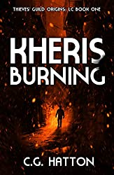Kheris Burning (Thieves' Guild Origins: LC Book One): Galactic War YA Sci Fi Novels