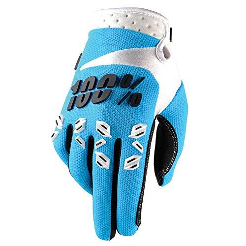 100% Prozent Airmatic Handschuhe Verstärkt MTB DH MX Motocross Enduro Offroad Quad, HU-GLO-0005, Farbe Blau, Größe XXL
