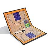 Tablero de entrenamiento de baloncesto plegable y magnético...