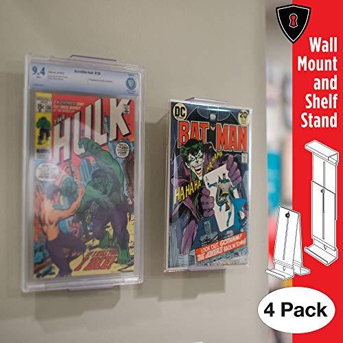 Fabricado para los verdaderos fans para mostrar su colección de cómics de dos formas diferentes. Puedes montarlos en las paredes o mostrarlos en estantes de toda tu casa. Ahora puedes desempaquetar todos tus cómics favoritos, Marvel Comics y todos tu...
