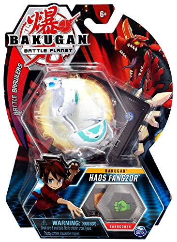 BAKUGAN, Haos Fangzor, 2-inch Tall Collectible Transforming Creature, for Ages 6 and Up