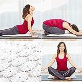 Una stuoia con un design basato sulla tecnica dell'agopuntura. Ha numerosi punti di pressione che agiscono su aree chiave del corpo fornendo rilassamento e benessere. Può essere utilizzato in varie posizioni e anche per praticare yoga. Realiz...