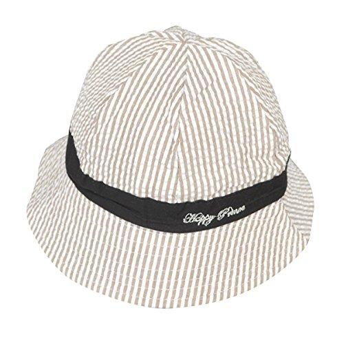 ABBY- Chapeau - Bébé (garçon) 0 à 24 mois chapeau de bébé en coton chapeau de soleil en Printemps et Automne Marron