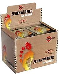 Warmpack Zehenwärmer | Schuh Wärmepads für kalte Temperaturen | Toe warmer | angenehm weiche Fußwärmer | 6 Stunden lang 38°C | 40er Pack