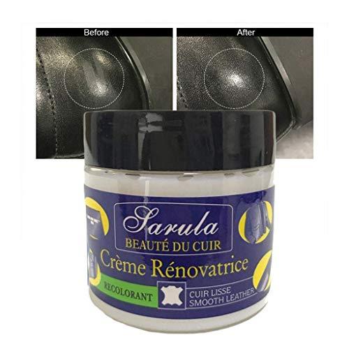 SIRIGOGO Neu! Leder Reparaturcreme,Flüssigleder,Lederreparatur-Spachtelmasse für Lederreparatur Risse, Verbrennungen und Löcher - Ungiftig, Tragbar (Blau)