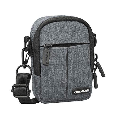 """Cullmann Malaga Kompakt \""""300\"""" Kameratasche für Kompaktkamera, 7 x 11 x 4 cm Grau"""