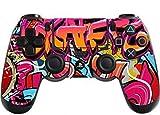 Stillshine Decal Full Body Skin Sticker For Sony Playstation 4 PS4 controllers x 2 (Hip Hop Graffiti)
