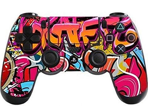 Stillshine Vinyle Decal Sticker Skin autocollant pour le manette x 2 (Hip Hop Graffiti)