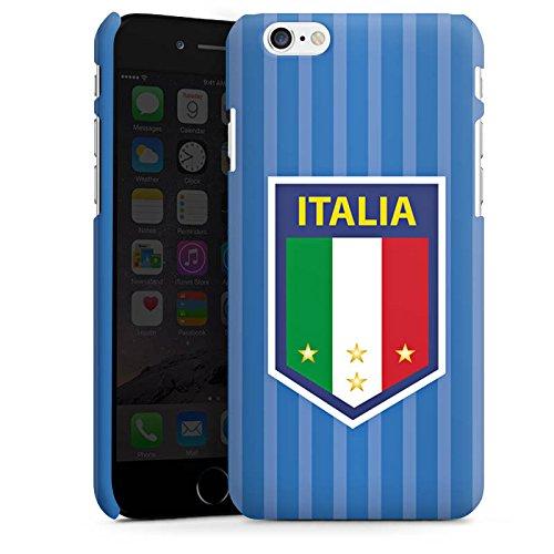Apple iPhone X Silikon Hülle Case Schutzhülle Italien EM Trikot Fußball Europameisterschaft Premium Case matt