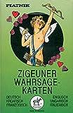 Zigeuner Wahrsagekarten. Deutsch/Englisch/Kroatisch/Ungarisch/Französisch/Italienisch: 36 Karten mit Anleitung - Piatnik