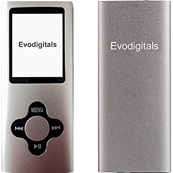 NEW EVO 16GB SILVER ELITE MP3 MEDIA MP4 PLAYER MUSIC VIDEO FM TUNER GAMES VOICE