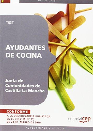 Ayudantes de Cocina. Junta de Comunidades de Castilla-La Mancha.Test (Colección 372) por Sin datos