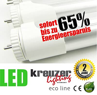 Kreuzer Lighting Eco Line Led Rhre T8 N22 150cm Warm White Drehbar Dimmbar von kreuzer lighting