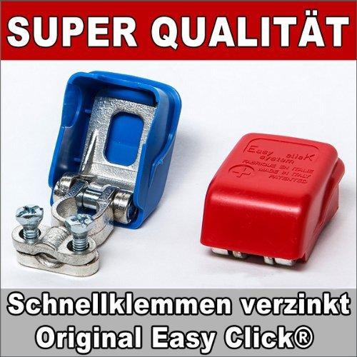 Preisvergleich Produktbild Batterie Polklemmen Schnellklemmen Batteriepolklemmen Batterieklemmen