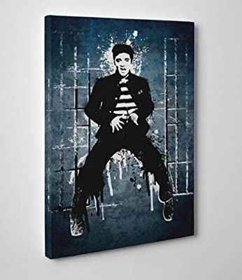 Canvas Wall Art Prints - Elvis Presley - Jailhouse Rock 2 - Available in 5 sizes
