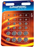 Grundig Round Cell Batteries Pack of 24