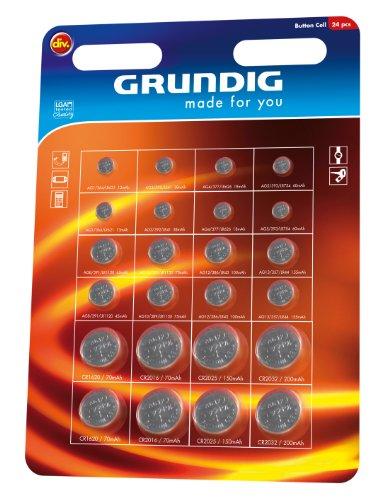 Grundig - Rund Batterien - 24er pack