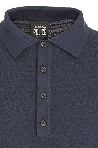 883 Police Wang Polo Shirt Navy