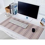 XKQWAN Tapis de souris pvc Touche clavier Napperon Imperméable Douceur exceptionnelle Verre Nappes en plastique-G 30x80cm(12x31inch)