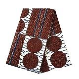 6Meter afrikanischen Wachs Prints Stoff Super Wachs