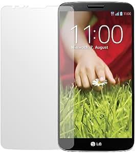 dipos LG G2 Schutzfolie (2 Stück) - Antireflex Premium Folie matt