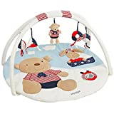 Fehn 078220 3-D-Activity-Decke Teddy