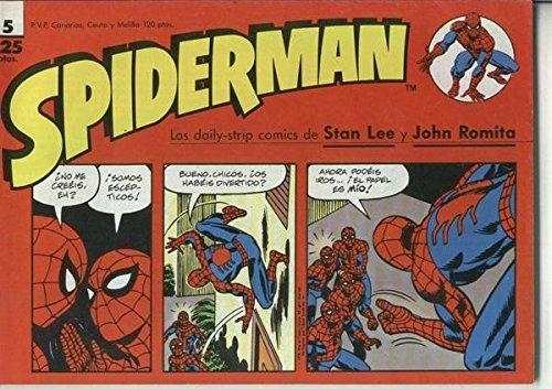 Spiderman tiras de prensa numero 05