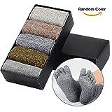 SOUMIT Deportivo Calcetines para Hombre (5 Pares) - Antibacteriano Desodorante y Calcetines Color Aleatorio