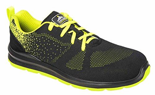 Portwest Chaussures de Sécurité Basses Steelite Aire S1P Noir / Vert