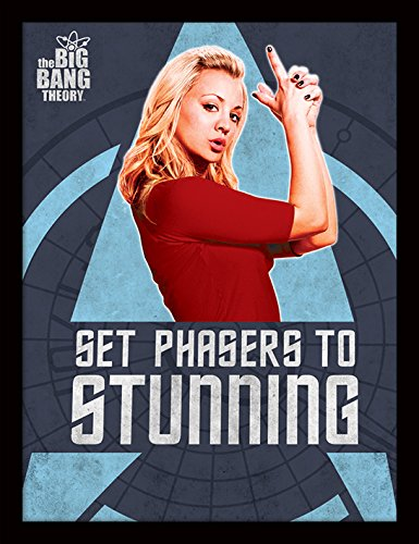 The Big Bang Theory Poster 30 x 40 cm Poster Encadré Phasers cm, Mugs-Tasses-fan-serie